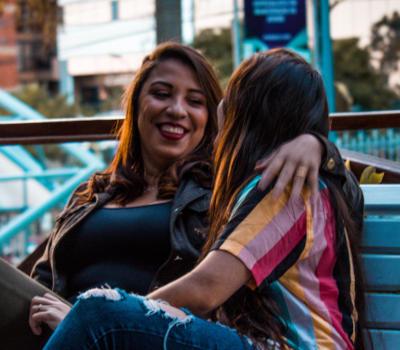 couple femmes lesbiennes