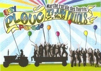 Gay plouc parade : Marche des fiertés rurale