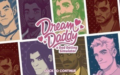 dream daddy, jeu lgbti, daddy, dream